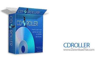 دانلود CDRoller v8.70.50 - نرم افزار بازیابی فایل ها و فولدرها از نوع CD و DVD