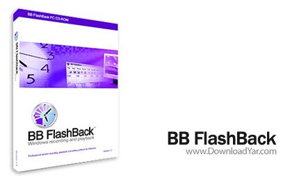 دانلود BB FlashBack Pro v2.6.7.1345 - نرم افزار فیلم برداری از صفحه نمایش