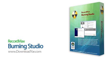 دانلود RecordMax Burning Studio v4.0.1 - نرم افزار رایت اطلاعات بروی انواع لوح های فشرده