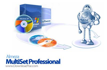 دانلود Almeza MultiSet Professional v7.2.Build.475 - نرم افزار ساخت سی دی های ویندوز با قابلیت نصب خودکار