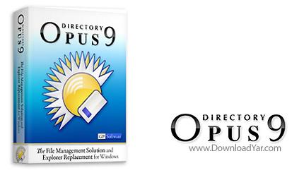دانلود Directory Opus v9.5.2.0.3660 - نرم افزار جایگزینی مناسب برای Windows Explorer