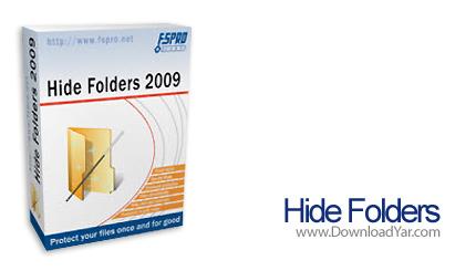 دانلود Hide Folders 2009 v3.3.17.601 - نرم افزار پنهان سازی و قفل گذاری روی فولدرها