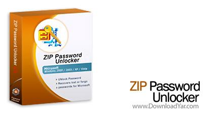 دانلود ZIP Password Unlocker v4.0 - نرم افزار بازیابی پسورد فایل زیپ