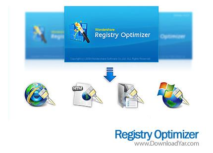دانلود Wondershare Registry Optimizer v5.3.3  - نرم افزار بهینه سازی رجیستری ویندوز