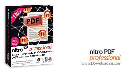 دانلود Nitro PDF Professional v6.0.2.6 - نرم افزار ایجاد و ویرایش فایل های PDF