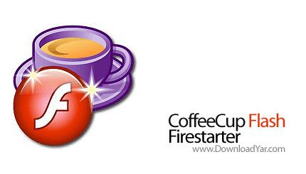 دانلود CoffeeCup Flash Firestarter v7.3 - نرم افزار ساخت افکت های فلش