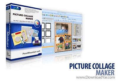 دانلود Picture Collage Maker Pro v2.1.7.2713 - نرم افزار ساخت آلبوم عکس، تقویم، کارت تبریک، کارت دعوت، پوستر