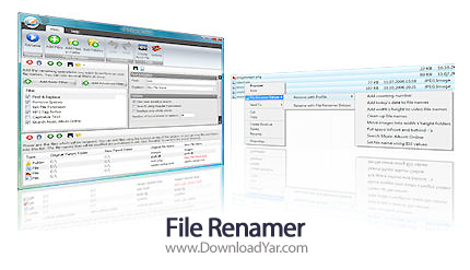 دانلود Kristanix File Renamer v2.66 - نرم افزار تغییر نام دسته ای فایل ها