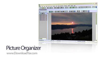 دانلود Picture Organizer v5.2 - نرم افزار سازماندهی، ویرایش و ساخت آلبوم تصاویر