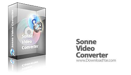 دانلود Sonne Video Converter v8.2.10.231 - نرم افزار تبدیل فایل های ویدئویی