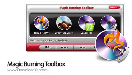 دانلود Magic Burning Toolbox v4.5.1.1 - نرم افزار رایت سی دی و دی وی دی