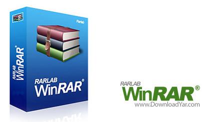 دانلود WinRAR v3.92 - نرم افزار فشرده سازی فایل ها
