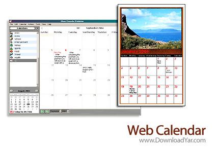 دانلود Sea Apple Software Web Calendar v2010.1.7 - نرم افزار تقویم وب