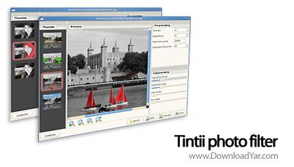 دانلود Tintii photo filter v2.2.1 - نرم افزار ایجاد جلوه های رنگی بر روی تصویر