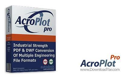 دانلود CADzation AcroPlot Pro v2009.02.03 - نرم افزار تبدیل فرمت خروجی اتوکد به فرمت PDF