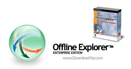 دانلود Offline Explorer Enterprise v5.8.3158 - نرم افزار دانلود تمام محتویات یک سایت