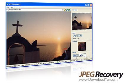 دانلود JPEG Recovery Pro v4.0 - نرم افزار بازیابی عکس ها با فرمت JPEG