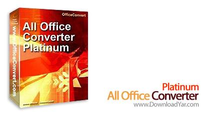 دانلود All Office Converter Platinum v6.1 - نرم افزار تبدیل فرمت نسخه های مختلف مایکروسافت آفیس به یکدیگر