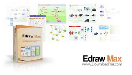 دانلود Edrawsoft Edraw Max Professional v5.1.0.1217 - نرم افزار ایجاد فلوچارت، نمودار سازمانی، دیاگرام های شبکه