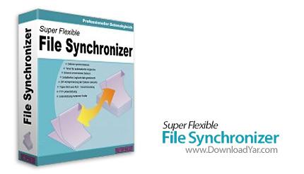 دانلود Super Flexible File Synchronizer Pro v4.92a - نرم افزار پشتیبان گیری از فایل ها و داده ها