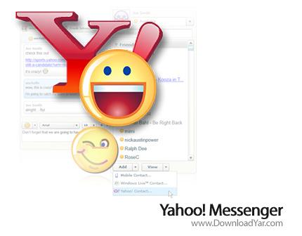 دانلود Yahoo Messenger v10.0.0.1270 - نرم افزار یاهو مسنجر