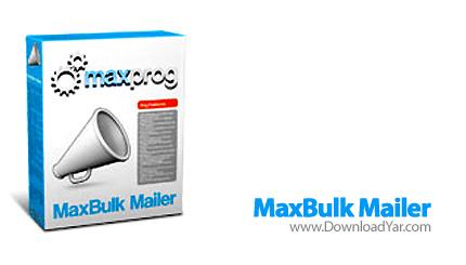 دانلود Maxprog MaxBulk Mailer Pro v7.3 - نرم افزار بازاريابي به وسيله ايميل