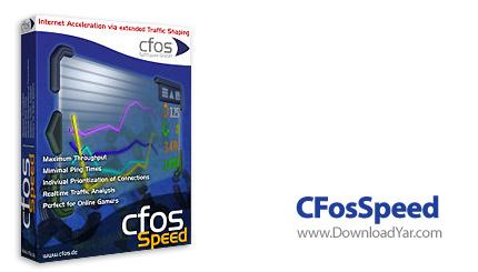 دانلود CFosSpeed v5.00.1560 - نرم افزار افزايش و بهينه سازی سرعت اينترنت