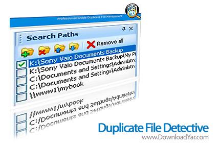 دانلود Duplicate File Detective v3.5.0.49 - نرم افزار جستجوی فایل های تکراری در هارد