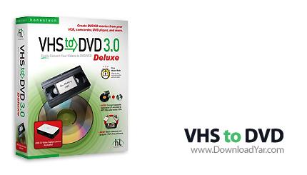 دانلود Honestech VHS to DVD v4.0.25 - نرم افزار تبدیل نوارهای ویدیویی قدیمی به دیسک های نوری جدید