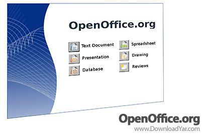 دانلود Open Office.org v3.2.0 - نرم افزار آفیس اُپنآفیس