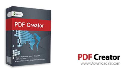 دانلود Simpo PDF Creator v2.2 - نرم افزار مبدل فرمت های مختلف به پی دی اف