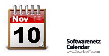 دانلود Softwarenetz Calendar2 v2.17 - نرم افزار یادآوری موضوعات مهم