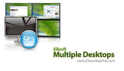 دانلود Xilisoft Multiple Desktops v1.0.1.0630 - نرم افزار داشتن چندین دسکتاپ