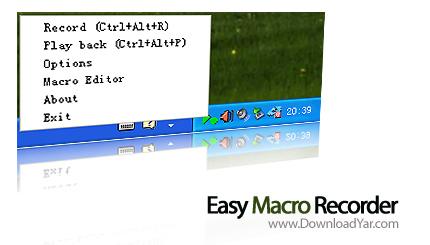دانلود Easy Macro Recorder v3.8 - نرم افزار ضبط و اجرای ماکروها