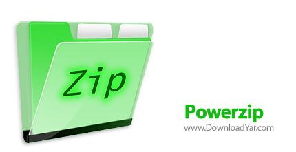 دانلود Powerzip v7.2.4010 - نرم افزار فشرده سازی فایل ها