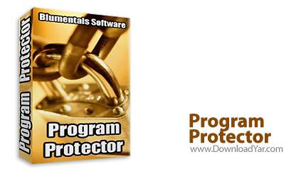 دانلود Program Protector v3.1 - نرم افزار قفل گذاری بر روی نرم افزار های نصب شده