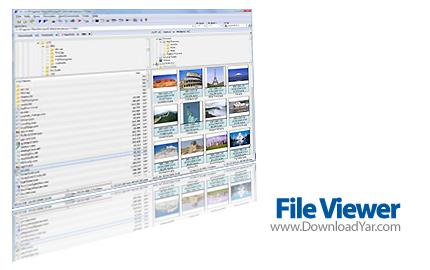 دانلود File Viewer v8.0 - نرم افزار مديريت و سازماندهی فايل ها