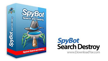 دانلود Spybot Search Destroy v1.6.2.46 - نرم افزار جستجو و نابودسازی جاسوس افزارها