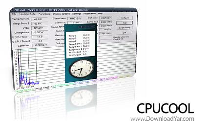 دانلود CPUCooL v8.0.6 - نرم افزار کنترل گرمای CPU