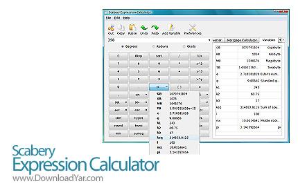 دانلود Scabery Expression Calculator v2.0.0 - نرم افزار محاسباتی