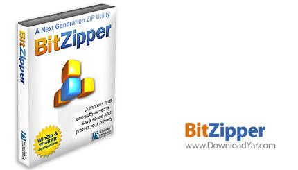 دانلود BitZipper v5.0.2 - نرم افزار فشرده سازی فایل ها
