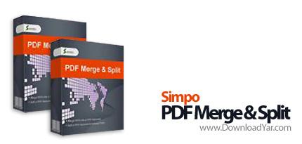 دانلود Simpo PDF Merge Split v2.0.0.8 - نرم افزار ادغام و جداسازی فایل های پی دی اف