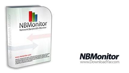 دانلود Nsasoft NBMonitor Network Bandwidth Monitor v1.1.4.1 - نرم افزار ثبت و نمایش میزان پهنای باند مصرفی