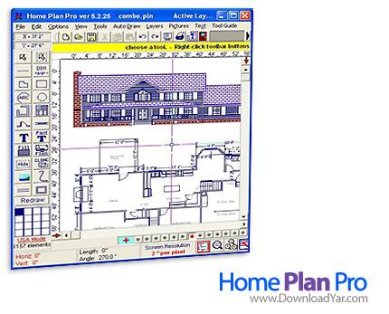 دانلود Home Plan Pro v5.2.21.6 - نرم افزار طراحی حرفه ای ساختمان