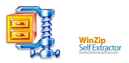 دانلود WinZip Self Extractor v4.0 Build 8672 - نرم افزار فشرده سازی با فرمت EXE