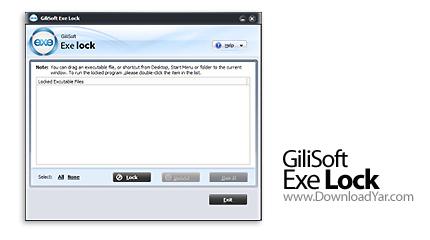 دانلود GiliSoft Exe Lock v1.6 - نرم افزار قفل گذاری بر روی فایل های اجرایی