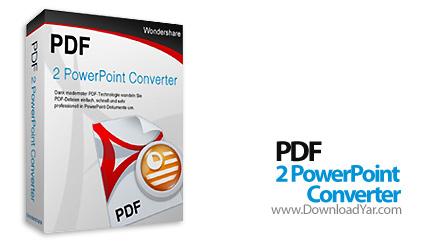 دانلود Wondershare PDF to PowerPoint Converter v2.0.0 - نرم افزار تبديل اسناد PDF به PowerPoint