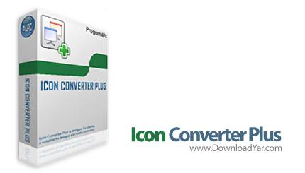دانلود Icon Converter Plus v4.8 - نرم افزار ساخت، ویرایش آیکون
