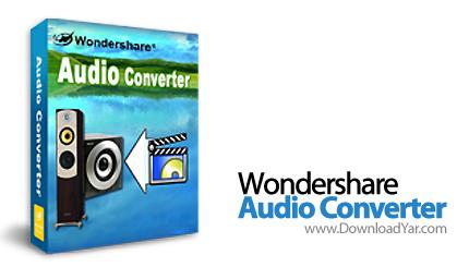 دانلود Wondershare Audio Converter v4.2.1 - نرم افزار تبدیل فایل های صوتی