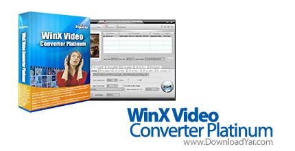 دانلود WinX Video Converter Platinum v5.9.2 - نرم افزار فرمت های تصویری به یکدیگر